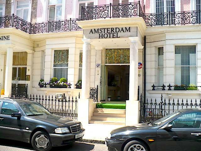 Amsterdam hotel london homepage for Amsterdam hotel londra