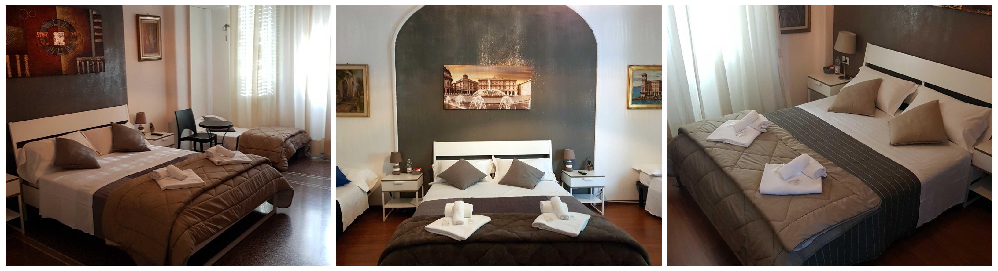 Central Rooms Genova Homepage